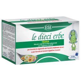Tisana alle erbe per regolare le funzioni intestinali
