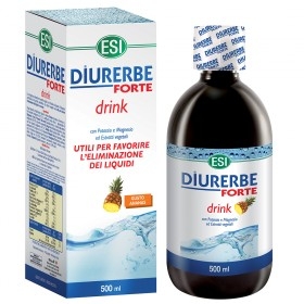 Integratore alimentare diuretico e drenante da bere