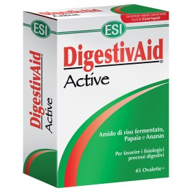 DigestivAid Active ESI: rimedio naturale per favorire il benessere dell'apparato digerente