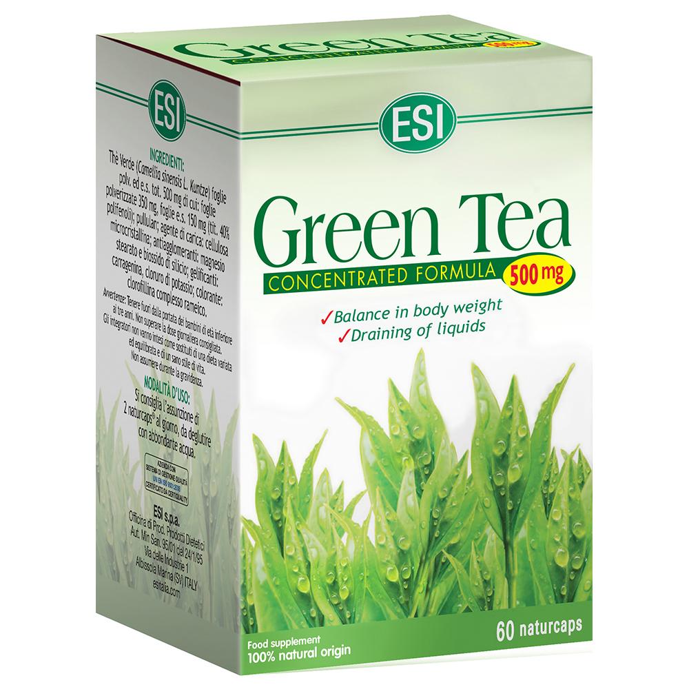 Green Tea ESI 500mg 60 naturcaps
