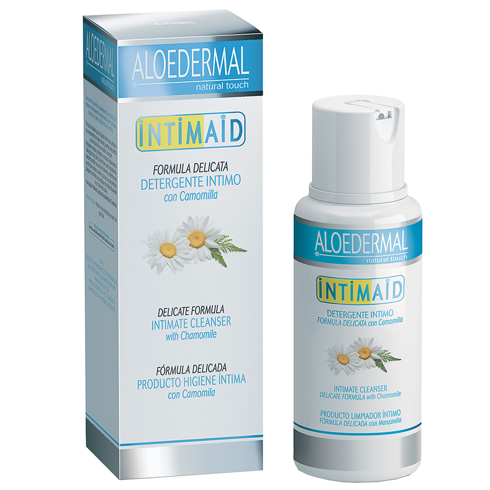 Detergente intimo ipoallergenico all'Aloe Vera e Camomilla