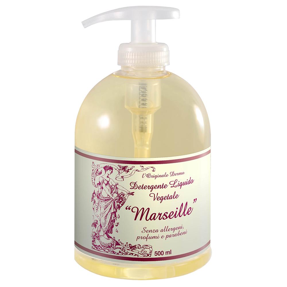 Detergente liquido vegetale al sapone di Marsiglia