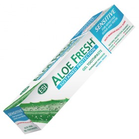 Aloe Vera toothpaste for sensitive teeth and gums