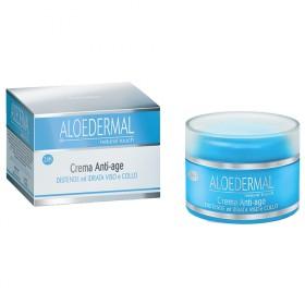 Crema viso anti-age all'Aloe Vera con formula assorbimento rapido