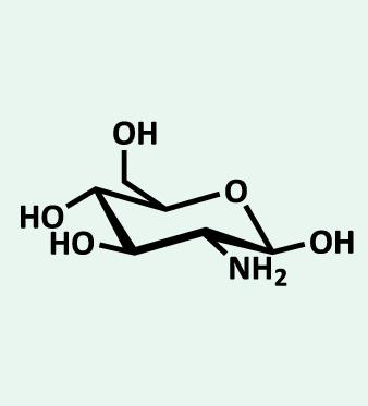 Struttura del chilosano: polisaccaride funzionale alla riduzione del peso corporeo e al controllo del colesterolo