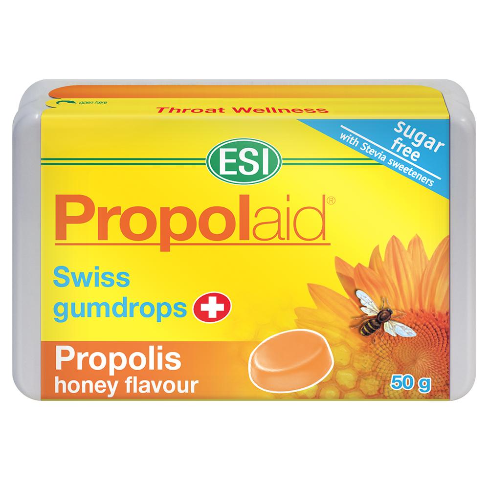 Caramelle balsamiche per la gola con Propoli al gusto miele