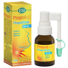 Spray per la gola a base di Propoli