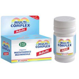 Integratore di vitamine e sali minerali per adulti